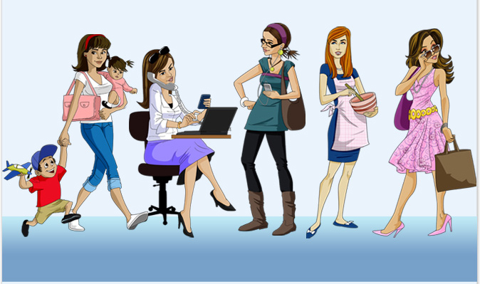 Bancuri Tari > Specii cunoscute de femei